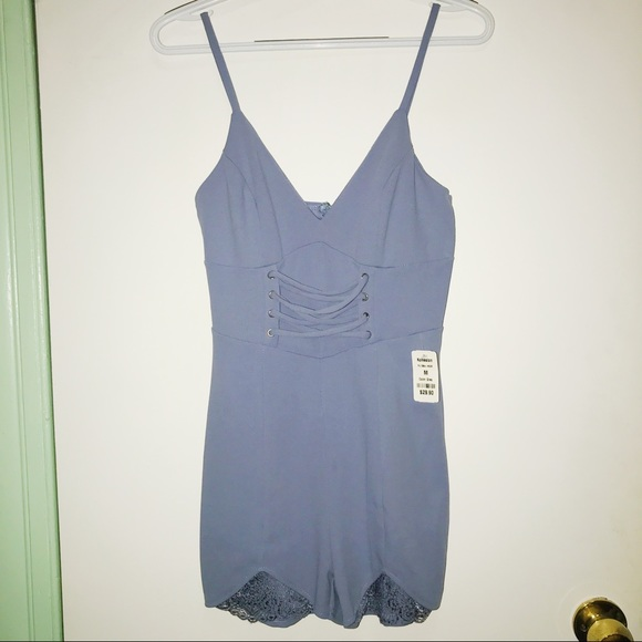 0413e63a3fc5 Privy Women s Romper. NWT. Privately Privileged